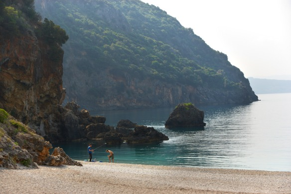 Beaches in Parga