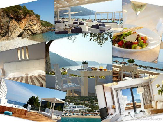 lichnos beach hotels located in parga: parga hotel photos