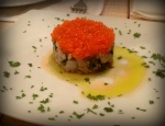 tartar with caviar