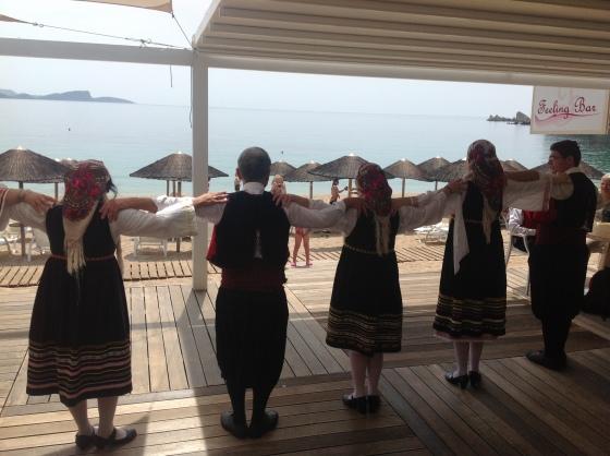 sirtaki dancing lichnos beach hotel parga